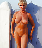 naked tanned