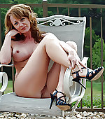 sexy milf outdoor