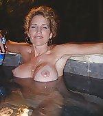 beer relaxing tub