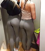 trying pants workout