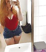 18 redhead thick