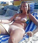 beach flashing gash