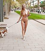 taking walk