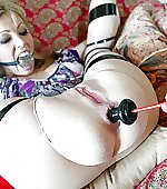 Bound gagged and