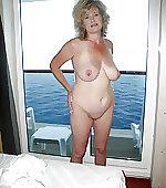 Busty blonde wife