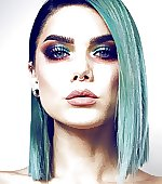 Blue hair and