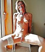 Blonde wife