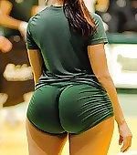 2 volleyballs