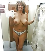 In the changing room