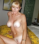 Naked wife with