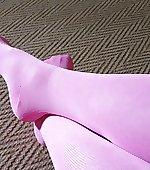 Pink socks for xmas