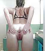 Cum shower with