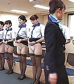 Stewardesses in a