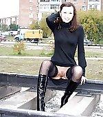 Russian girl on