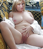 Sexy blonde wife