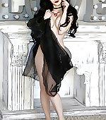 Lust implied nude
