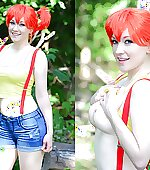 Misty topless by