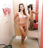 Forgot her bikini