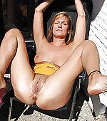 Slut mom with cum