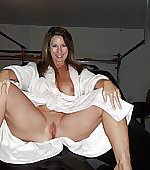 Thighs open