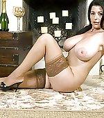 Stockings heels